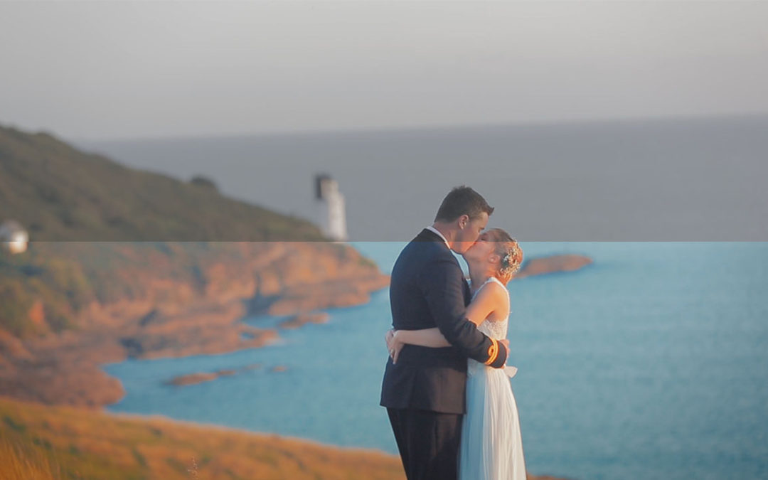 'Colour Grading' a Wedding Video (Devon Cornwall)