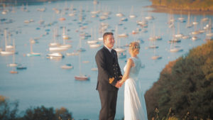 Wedding video poster frame devon cornwall