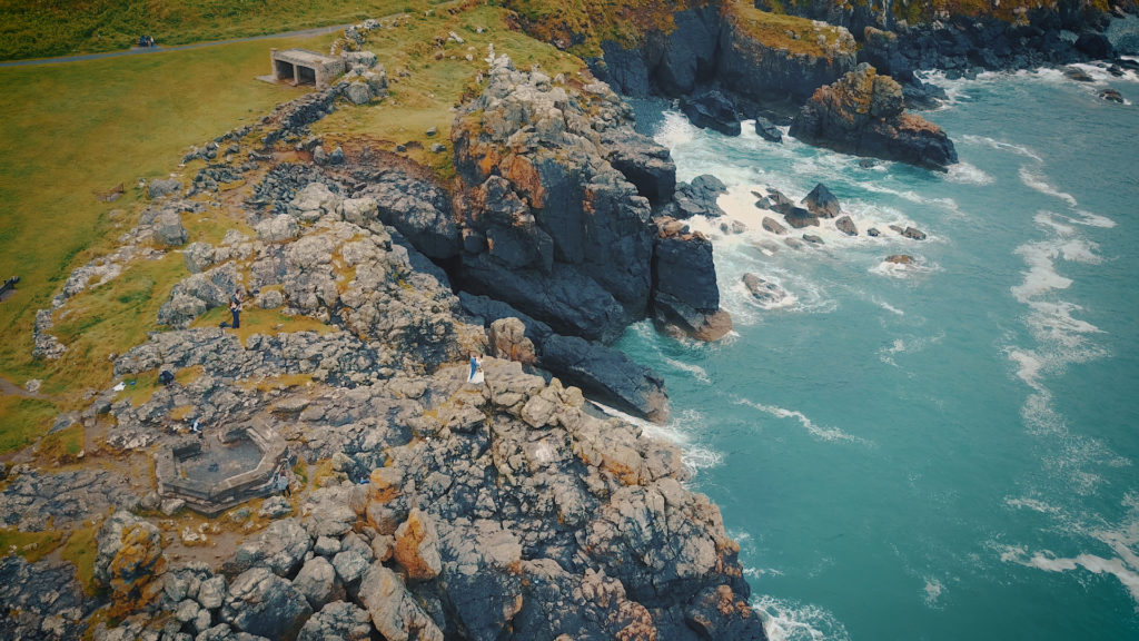 Cornwall Wedding Video - beautiful coastlines