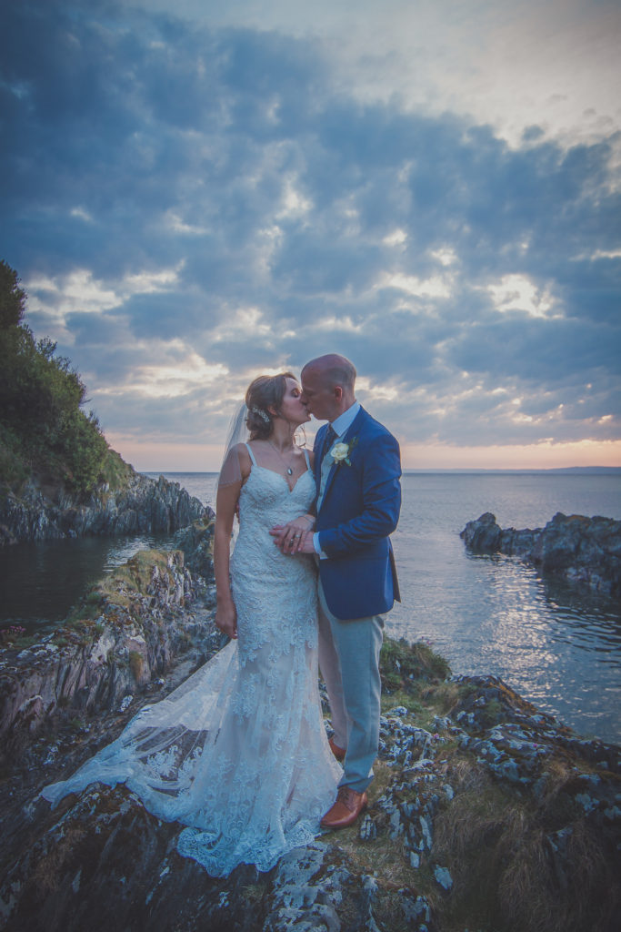 Wedding photography Cornwall Devon Polhawn Fort