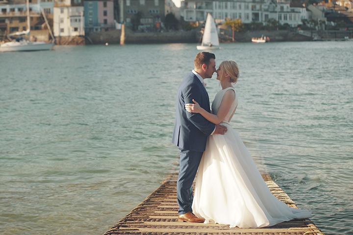 Sophie and Ian - Wedding video Devon Somerset Salcombe Harbour ...