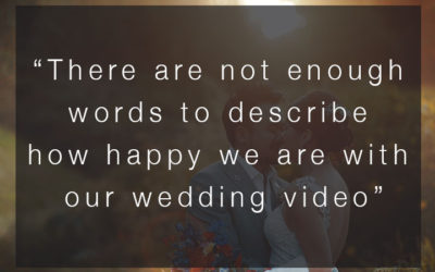 """There are not enough words to describe how happy we are…"" – SWWA 2018 Voter Comments – Wedding Video"